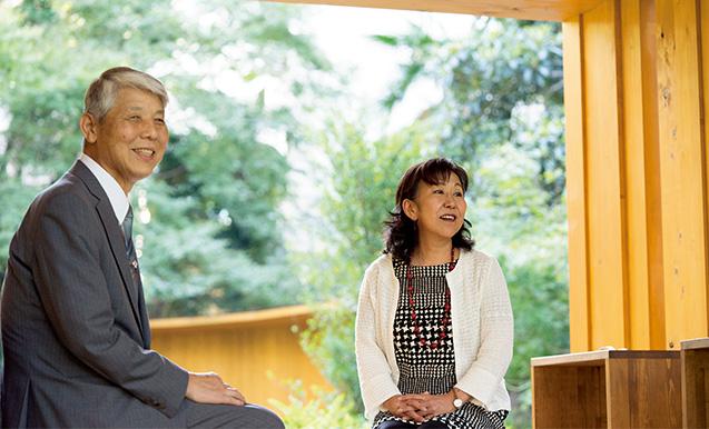 インタビュアーを務めた小林さんと