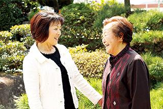 米寿を迎えたキヨヱさんは元気そのもの。「母は私の心の支えです」