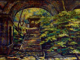 故郷、京都の南禅寺を描いた作品