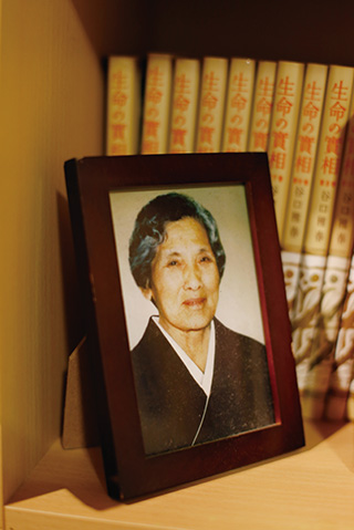 祖母・ヒサコさんの遺影