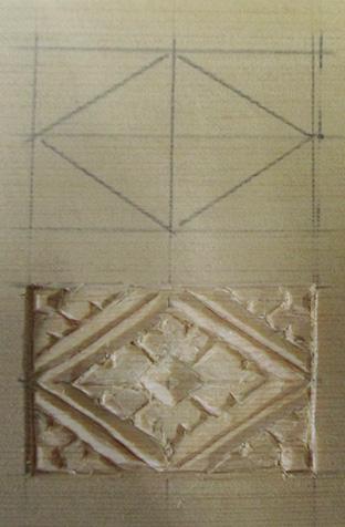仏像彫刻の基礎が詰まっていると言われる「花菱地紋」