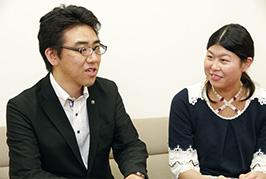 「昌宏さんが、いつも明るく笑い飛ばしてくれるので、落ちこんでいたり、暗く 考えているのが馬鹿馬鹿しくなってしまいます(笑)」