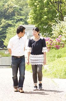 「車が好きな昌宏さんの運転で、よく鎌倉あたりにドライブに出かけています」