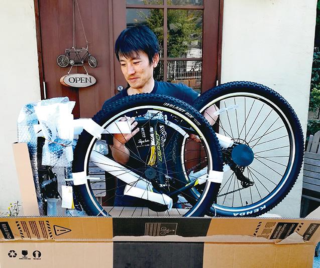 自転車の専門店でしっかりと相談し、自分の乗り方に合ったバイクを選びましょう(写真は筆者提供)