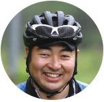 中根敏也 SNI自転車部事務局 愛知県出身。生長の家国際本部勤務。趣味はギターを弾いて歌うこと