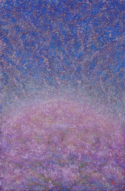 『満天の花びら』(2016年作。P6号)