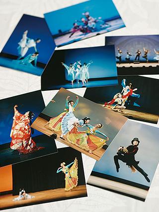 これまでのモダンダンスの発表会の写真