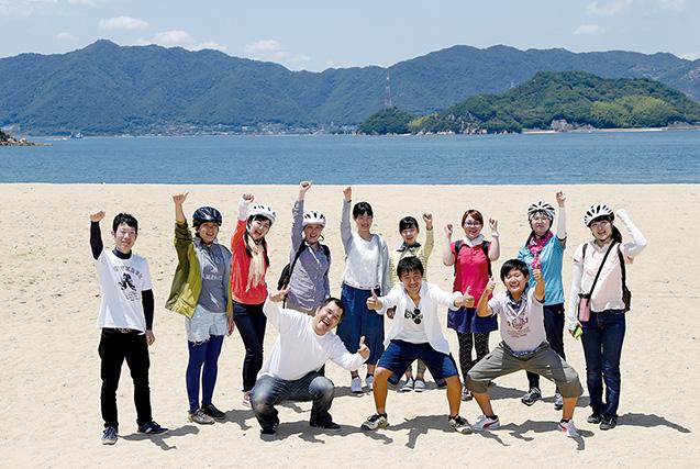 因島アメニティ公園しまなみビーチで