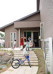 会場の長坂集会所