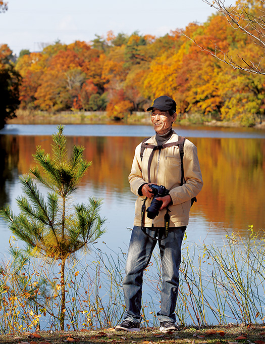 渡邉 渥(わたなべ・あつし)さん│72歳│京都府木津川市 「写真を撮るようになって、季節の移ろいや自然の偉大さをより深く感じるようになりました」 取材/久門遥香(本誌) 写真/中橋博文