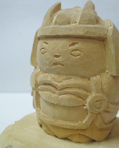 平成26年に製作された「童大将」(写真は筆者提供)