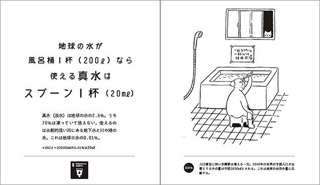 橋本淳司『水のなくなる日』(産業編集センター)より