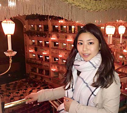 二枝由衣(ふたえだ・ゆい)さん/フランス・パリ/ソプラノ歌手・30歳 取材●中村 聖(本誌)/写真提供●二枝由衣さん