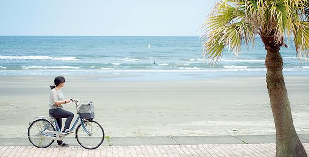 「季節や時間で見え方が全然違うんです。海ではいつも感動しています」
