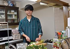 「時折、家族のために料理をするようになりました」