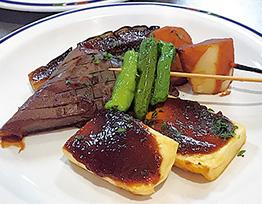 7月3日に提供された豆腐田楽